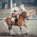 """""""Reiten mit Handicap"""" Hengst Mailänder und Ivonne Hellenbrand, Foto: www.kullagulla.de"""